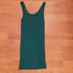 BNWT Vince Teal ribbed tank